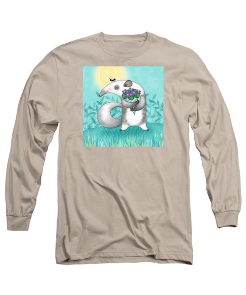 A Is For Anteater Long Sleeve T-Shirt