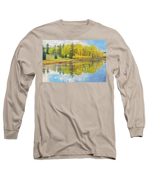 A Lakeside Willowwacks  Long Sleeve T-Shirt by Bijan Pirnia