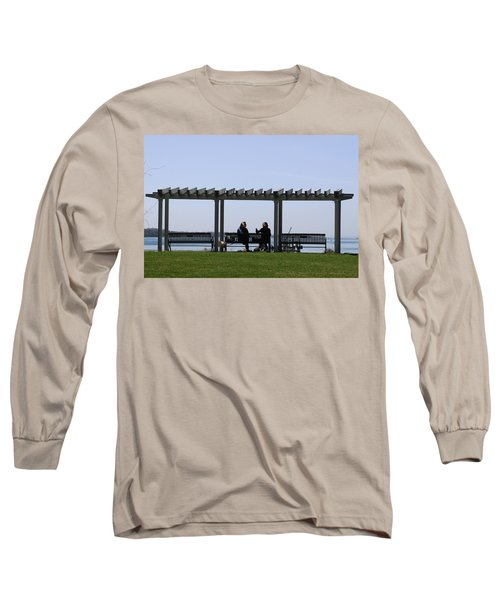 Long Sleeve T-Shirt featuring the photograph A Lazy Day by Paul SEQUENCE Ferguson             sequence dot net