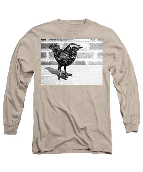 A Little Bird Long Sleeve T-Shirt by Joseph Skompski