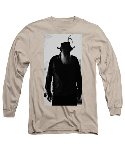 A Man Of Few Words Long Sleeve T-Shirt