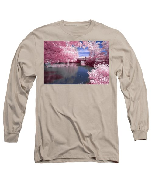 Long Sleeve T-Shirt featuring the photograph A Moment To Reflect by Brian Hale