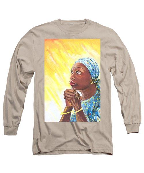 A Mothers Prayer Long Sleeve T-Shirt