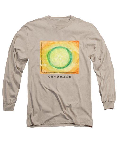 A Piece Of Cucumber Long Sleeve T-Shirt