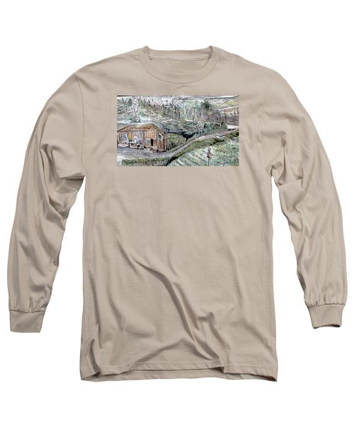 A Piece Of Earth From Hills Of Northeast India Long Sleeve T-Shirt