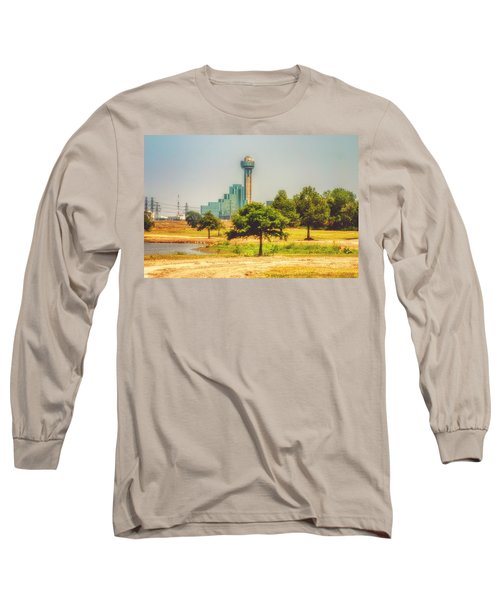 Long Sleeve T-Shirt featuring the photograph A Quiet View by Joan Bertucci