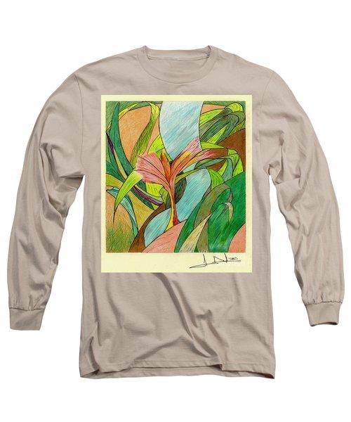 A River Runs Through Long Sleeve T-Shirt
