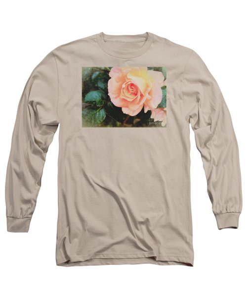 A Rose For Kathleen Long Sleeve T-Shirt by Janice Rae Pariza