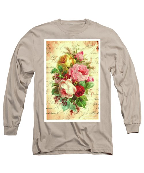 A Rose Speaks Of Love Long Sleeve T-Shirt by Tina LeCour