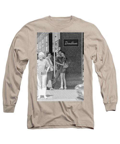 A Sidewalk Conference Long Sleeve T-Shirt