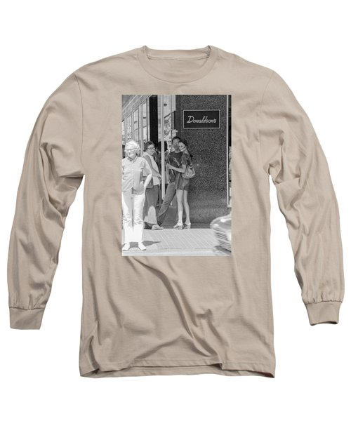 A Sidewalk Conference Long Sleeve T-Shirt