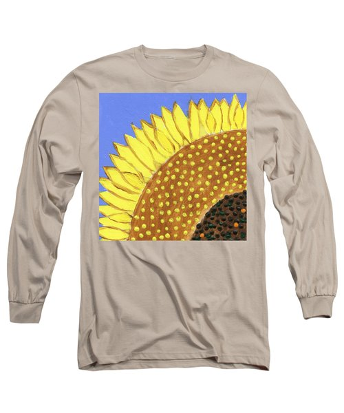 A Slice Of Sunflower Long Sleeve T-Shirt