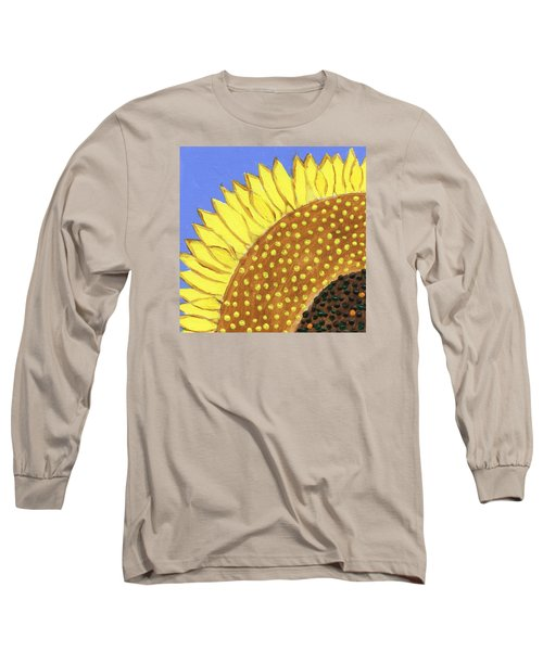A Slice Of Sunflower Long Sleeve T-Shirt