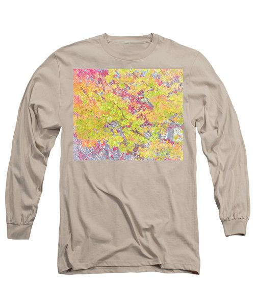A Splash Of Color Long Sleeve T-Shirt