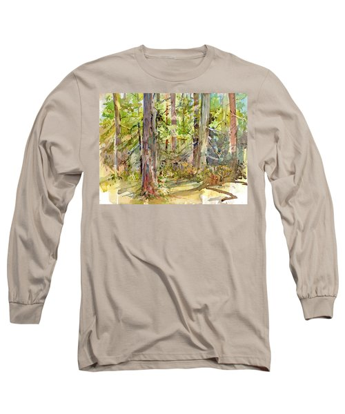 A Stand Of Trees Long Sleeve T-Shirt