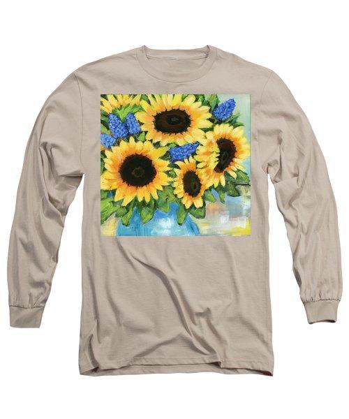 A Sunny Arrangement Long Sleeve T-Shirt