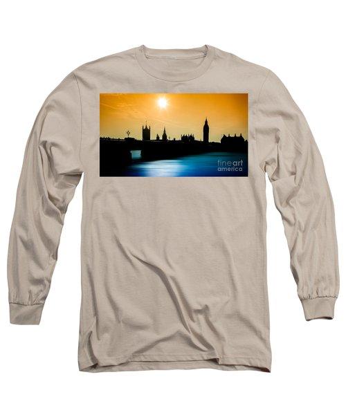 A Sunny Shape Long Sleeve T-Shirt by Giuseppe Torre