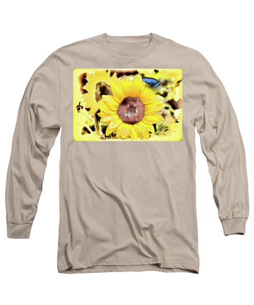 A Touch Of Blue Long Sleeve T-Shirt
