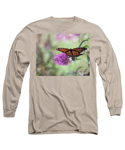 A Touch Of Spring Long Sleeve T-Shirt by Laurinda Bowling