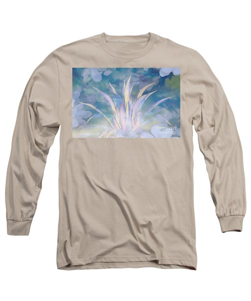 A Touch Of Spring Long Sleeve T-Shirt by Sherri's Of Palm Springs