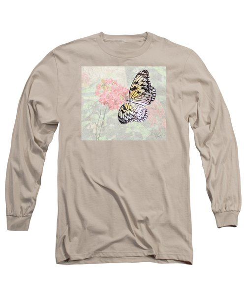 A Touch Of White Long Sleeve T-Shirt by Rosalie Scanlon