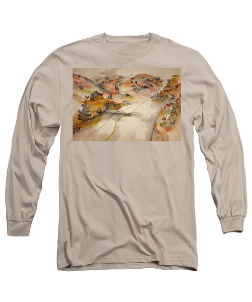 a trip to Lewistown  in Autumn  album Long Sleeve T-Shirt by Debbi Saccomanno Chan