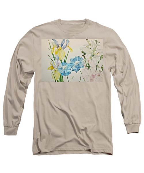 A Variety-posthumously Presented Paintings Of Sachi Spohn  Long Sleeve T-Shirt