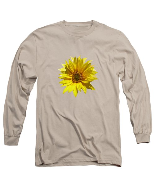 A Vase Of Sunflowers Long Sleeve T-Shirt