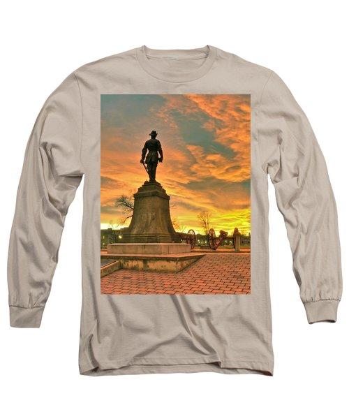 A Vmi Sunset Long Sleeve T-Shirt