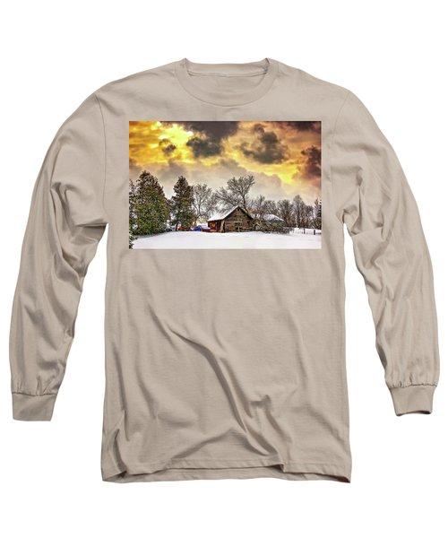 A Winter Sky Long Sleeve T-Shirt