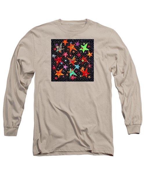 A Winter's Night In Yukon Long Sleeve T-Shirt