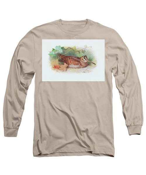 A Woodcock Resting Long Sleeve T-Shirt
