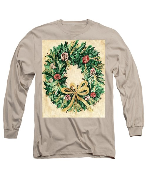 A Wreath  Long Sleeve T-Shirt