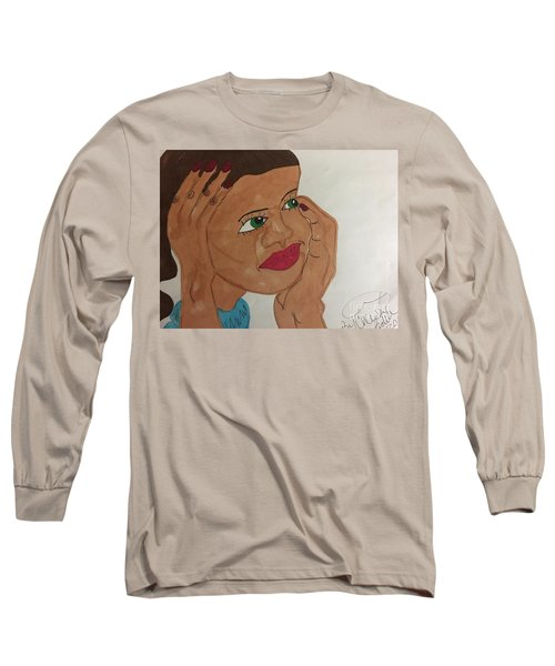 A Young Woman  Long Sleeve T-Shirt