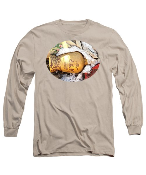 Abandoned Bottle Long Sleeve T-Shirt by Ethna Gillespie