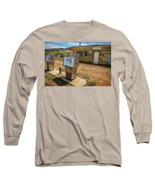 Abandoned Gas Station Long Sleeve T-Shirt