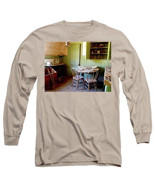 Abandoned Kitchen Long Sleeve T-Shirt