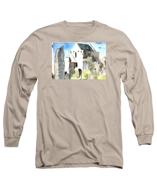 Abbey Watercolor Long Sleeve T-Shirt
