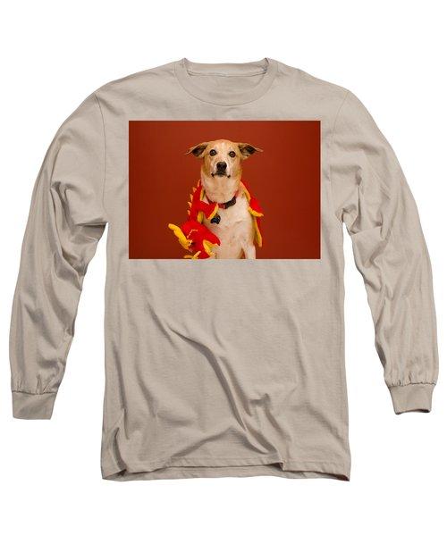 Abbie And A Dragon Long Sleeve T-Shirt