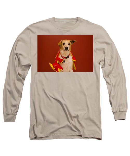 Abbie And Dragon Toy Long Sleeve T-Shirt