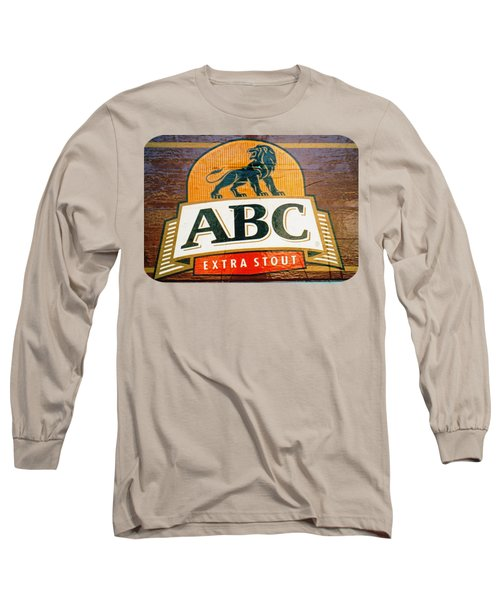 Abc Stout Long Sleeve T-Shirt by Ethna Gillespie