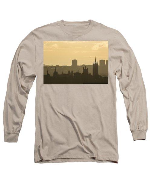 Aberdeen Skyline Silhouettes Long Sleeve T-Shirt