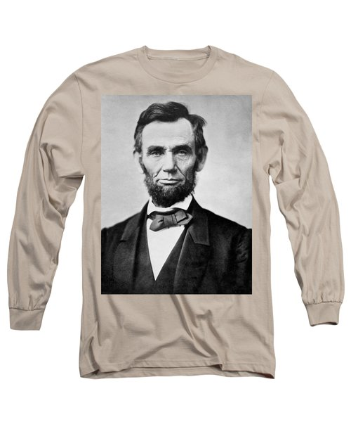 Long Sleeve T-Shirt featuring the photograph Abraham Lincoln -  Portrait by International  Images