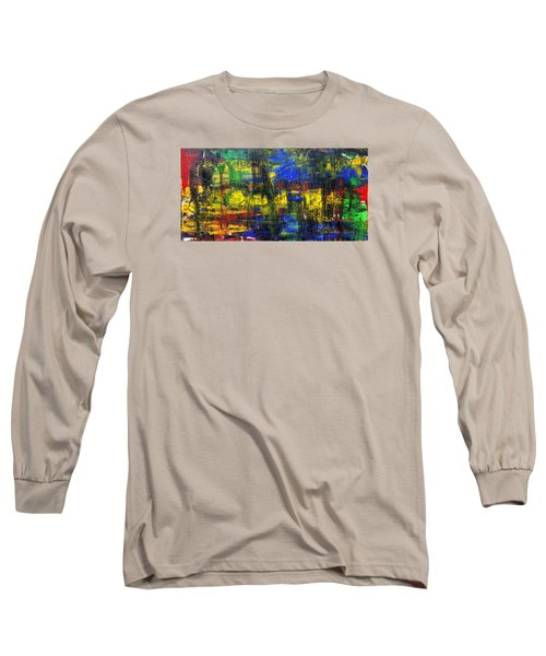 Abstract # 2  Long Sleeve T-Shirt by Rich Franco