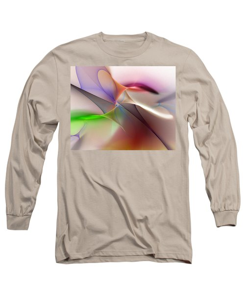 Abstract 082710 Long Sleeve T-Shirt