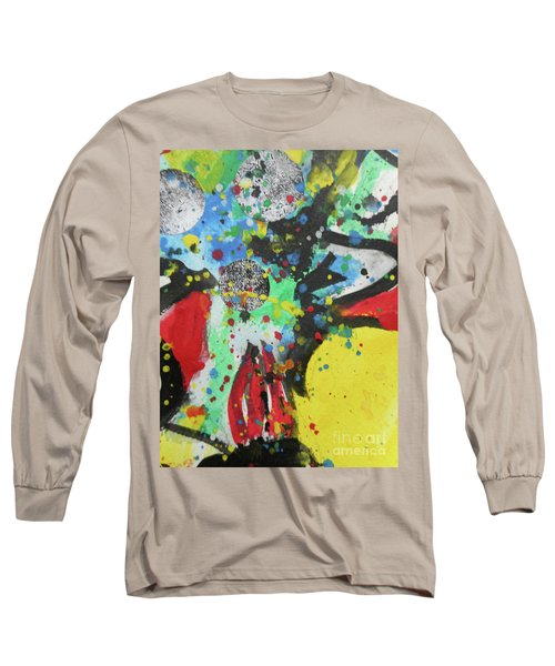 Abstract-1 Long Sleeve T-Shirt