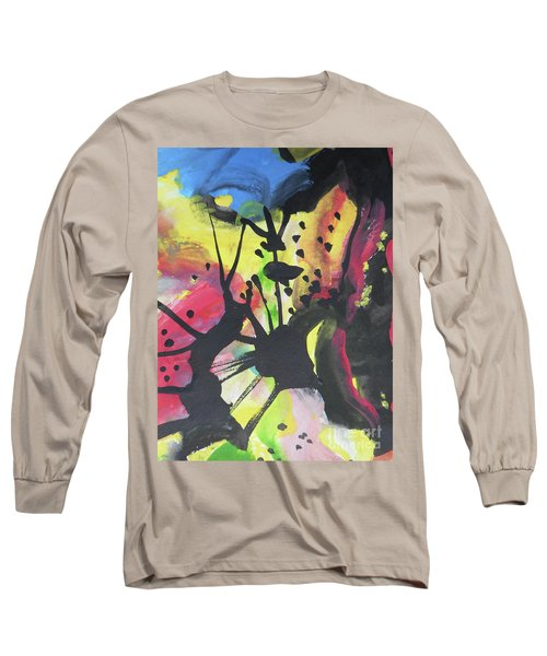Abstract-2 Long Sleeve T-Shirt