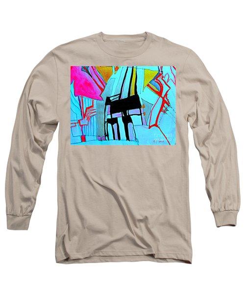 Abstract-28 Long Sleeve T-Shirt