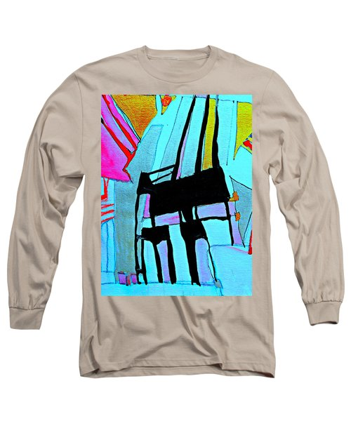 Abstract-28 Long Sleeve T-Shirt