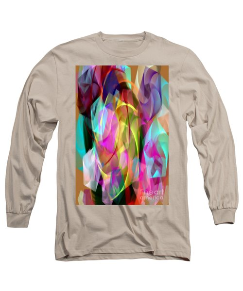 Long Sleeve T-Shirt featuring the digital art Abstract 3366 by Rafael Salazar